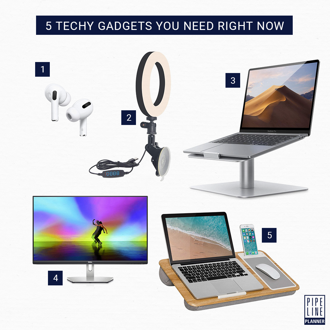 5 Techy Gadgets You Need Right Now